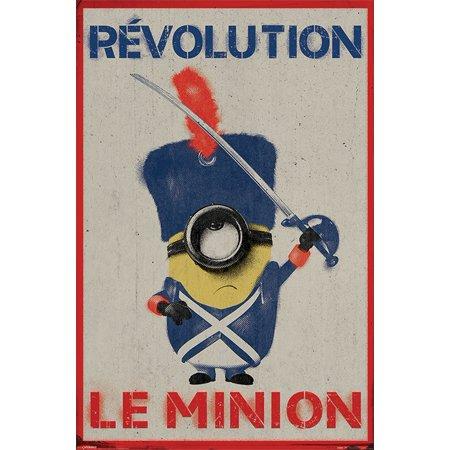 - Minions - The Movie - Movie Poster / Print (Revolution Le Minion) (Size: 24