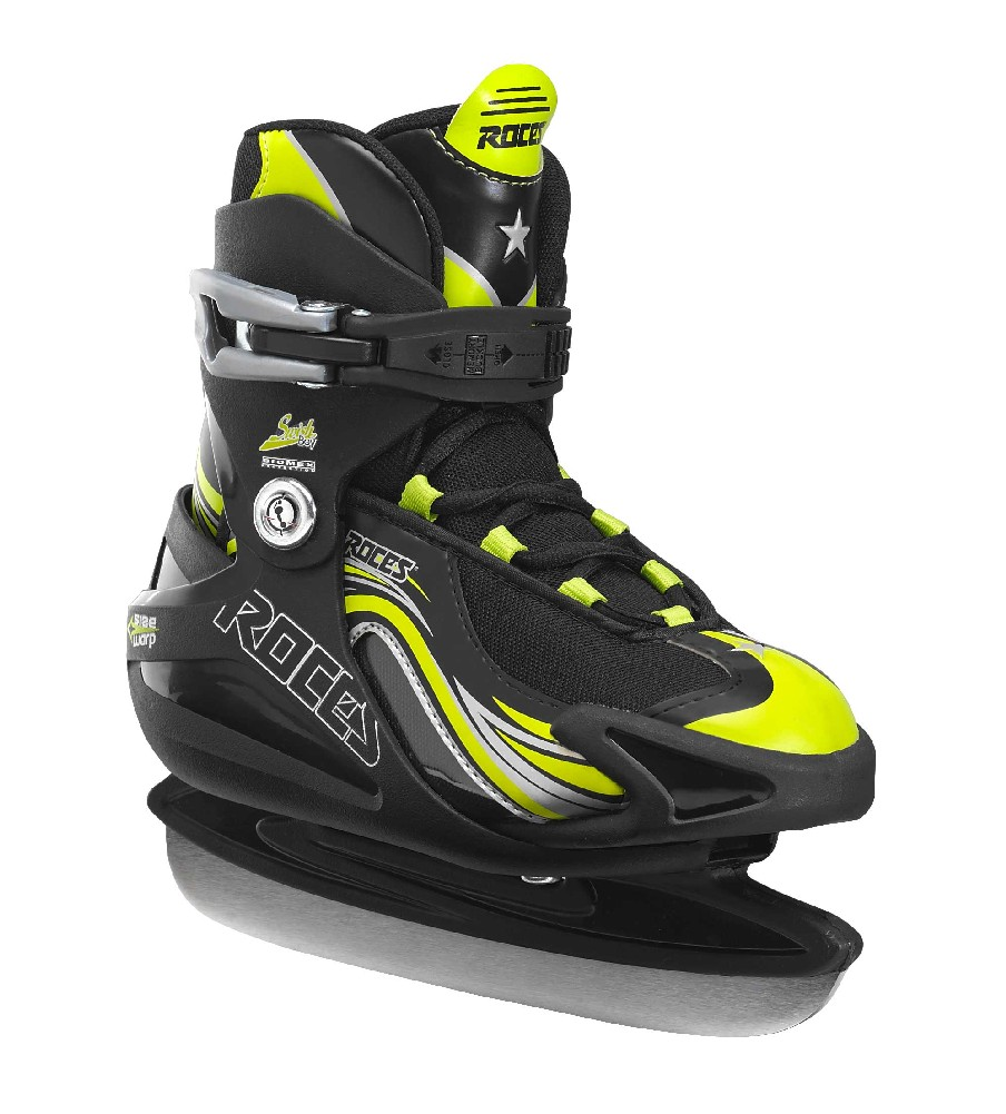 Roces Boy's Swish Ice Skate Size Adjustable 450629 00001 by Roces