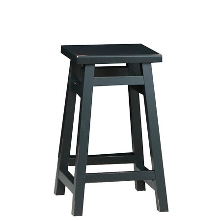 Carolina Tavern 24 in. Counter Stool - Antique Black ()