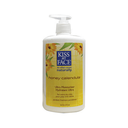 Kiss My Face Ultra Moisturizer Honey Calendula 16 fl oz -