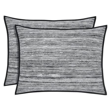 Black Pillow Sham (Felix Pillow Sham by Five Queens)