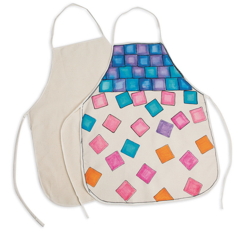 (Price/Pack of 6)Color-Me; Adult Apron