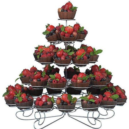 Efavormart 5-Tier Cupcakes Dessert Stand - Holds 41](Castle Cupcake Stand)