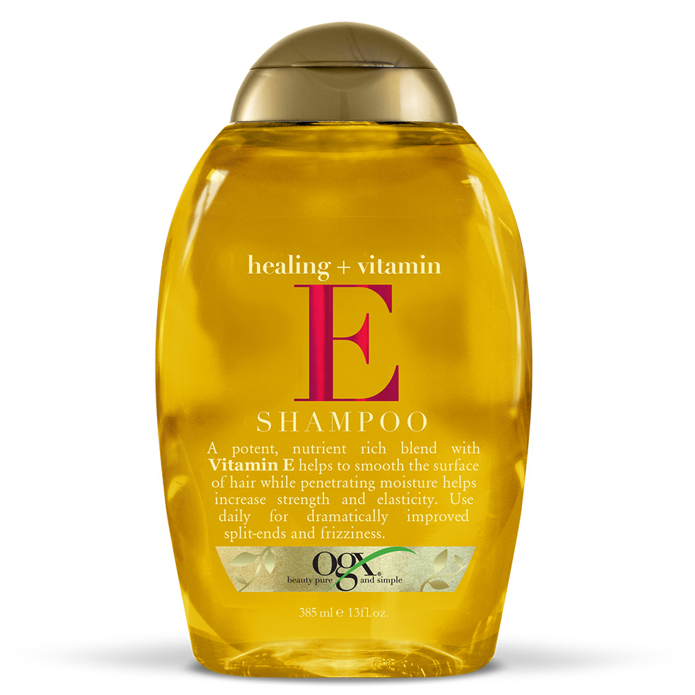 OGX Healing + Vitamin E Shampoo, 13 FL OZ