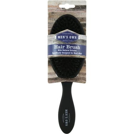 Swissco Men's Soft Touch Hair Brush with 100% Boar Bristle