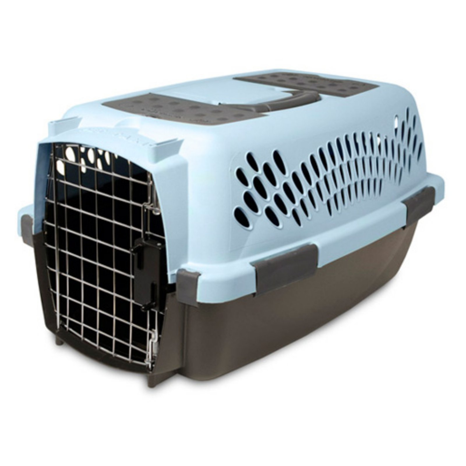blue dog crate midwest  blue single door icrate dog crate  - aspen pet porter fashion dog crate walmartcom