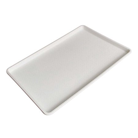 18 x 26 Inch Plastic Tray White - White Plastic Serving Trays
