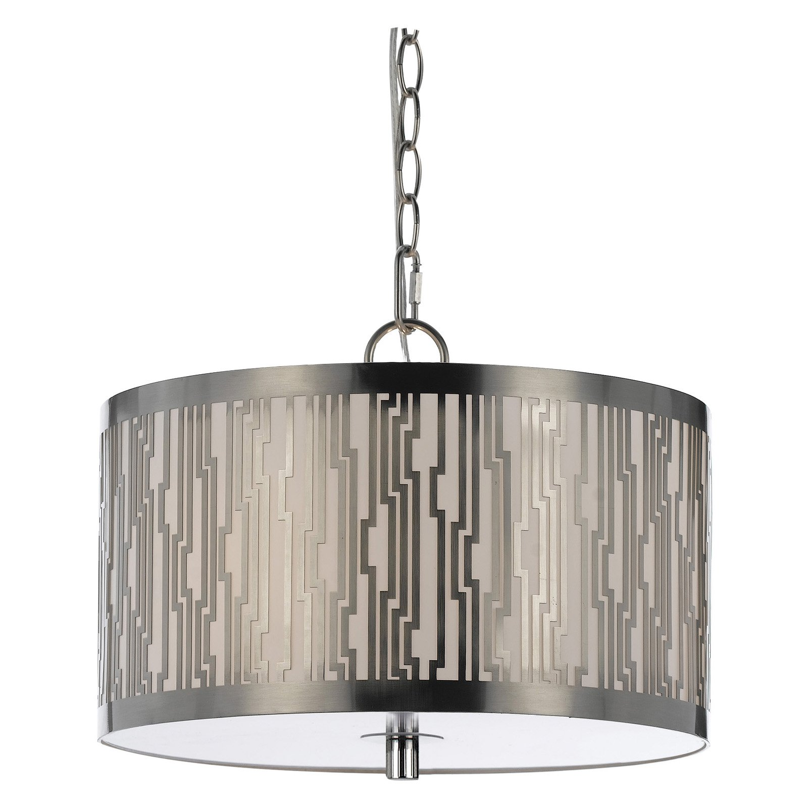 AF Lighting 8490 Pendant in Satin Nickel
