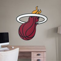 Fathead Miami Heat: Logo - Giant Officially Licensed NBA Removable Wall Decal