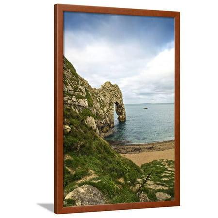 Unesco World Heritage Site Jurassic Coast Dorset England Uk Framed Print Wall Art By (Designer Discount Sites Uk)