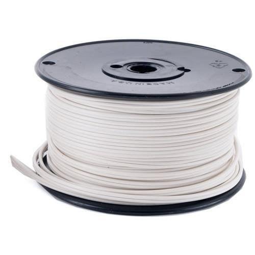 Queens of Christmas ZIPCord-500-18W Wire zipCord 18 Gauge White SPT-1 500 feet spool