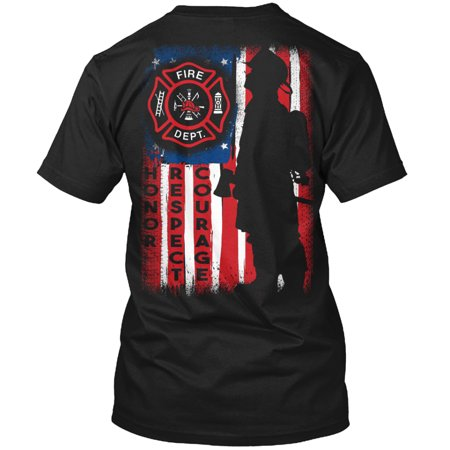 Firefighter - Honor, Respect, Courage Hanes Tagless Tee T-Shirt