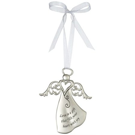 (Heartfelt Angel Ornament by Ganz - Love Is A Gift That Fills Heart With Joy)
