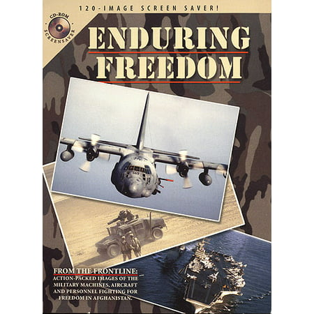 Enduring Freedom Screen Saver  For Windows And Mac  Xsdp  0643125611005   From Ac 130 Gun Ships To B2 Bombers  F15 Eagles And Marine Ah1 Cobra Attack Helicopters  The 120 Screen Saver Images In T