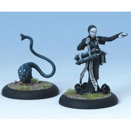 Iron Kingdoms Miniatures - Curator and Discerning Beast - Nonokrion Order Infernal New