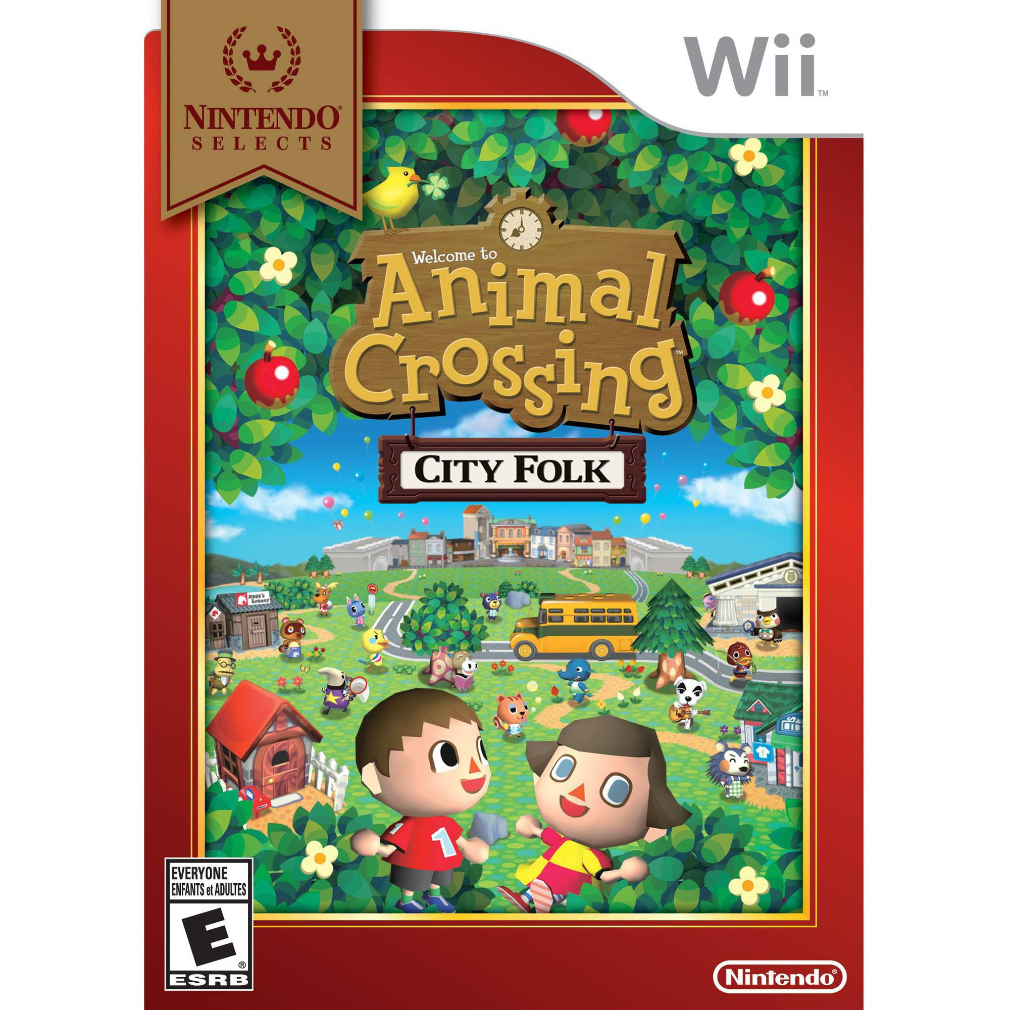 animal crossing city folk nintendo selects wii walmartcom - Halloween Animal Crossing City Folk