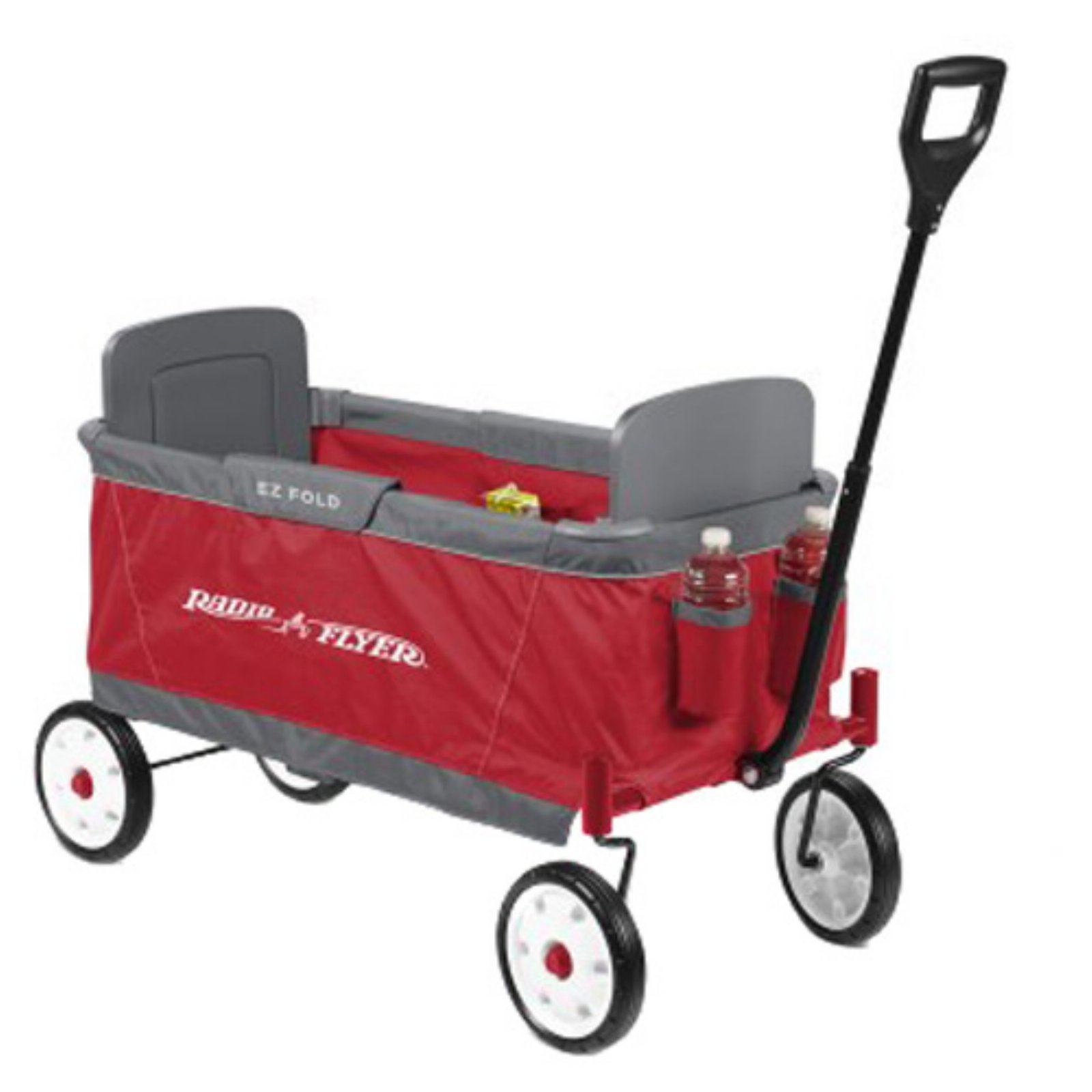 Radio Flyer 2 Passenger Ultimate EZ Folding Wagon for Children and Cargo, Red by Radio Flyer