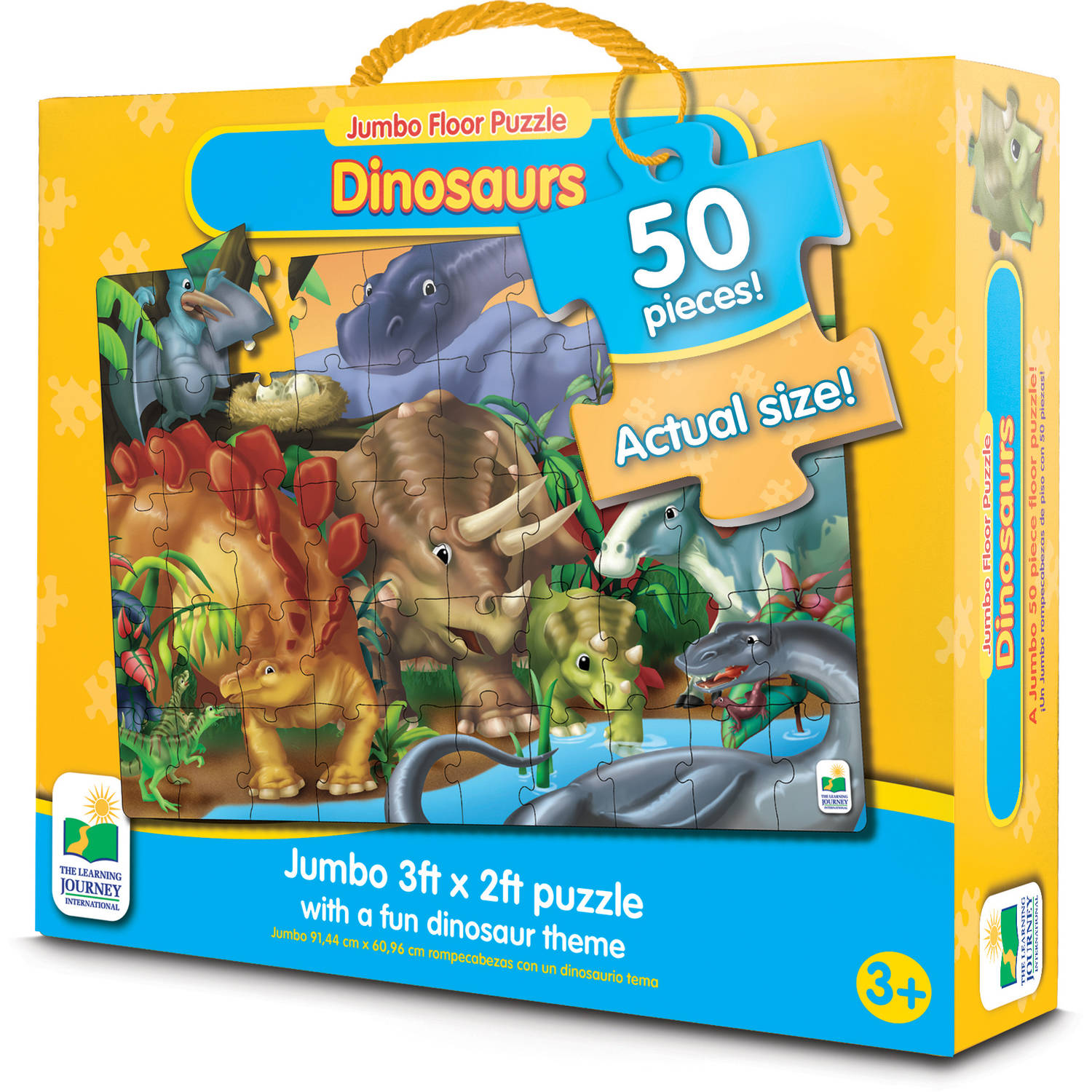 Jumbo Floor Puzzles, Dinosaurs by The Learning Journey