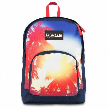 Overt Backpack - Palm Trees With 15 Laptop Sleeve School Travel Pack ()