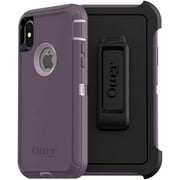 OtterBox Defender Series Case & Holster for iPhone Xs & X, Purple Nebula