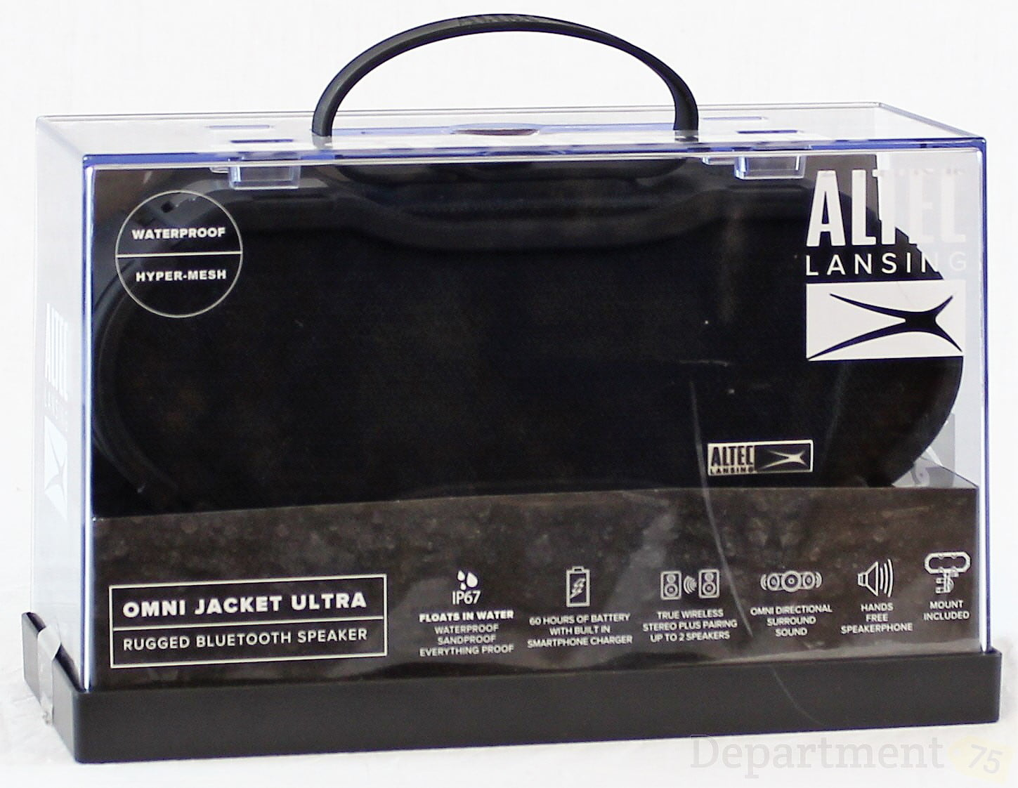 Altec Lansing OMNI Jacket Ultra Rugged Bluetooth Speaker by Altec Lancing