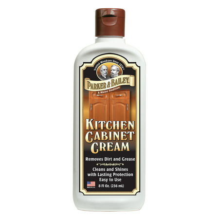 Parker & Bailey Kitchen Cabinet Cream 8 oz. (Cleaner 8 Oz Spray Bottle)
