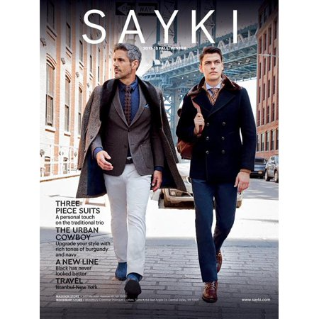2017-2018 Fall-Winter: Sayki: Men's Fashion Brand: Suits, Blazers, Pants, Chinos, Tricots (Paperback) thumbnail