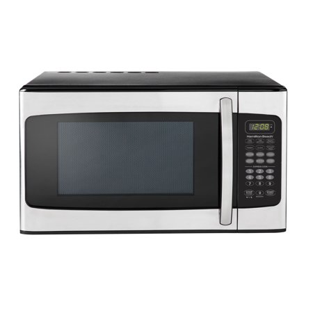 Hamilton Beach 1 1 Cu  Ft  Stainless Steel Microwave Oven