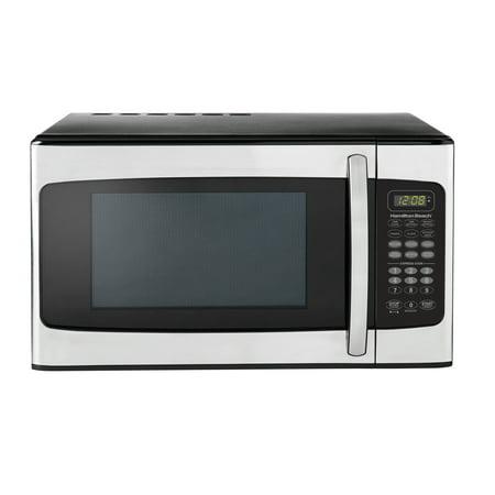 Hamilton Beach 1.1 Cu. Ft. Stainless Steel Microwave Oven