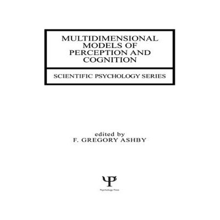 Multidimensional Models of Perception and Cognition - eBook