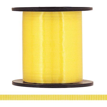 Curling Ribbon, Yellow, 500 yd, 1ct - Yellow Ribbons