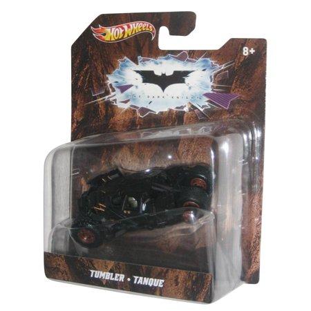 Batman Begins Replicas - DC Comics Batman Begins Black Tumbler Hot Wheels Diecast Replica Toy