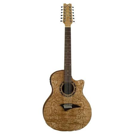 Dean Guitars Exotica 12 String Quilt Ash Acoustic Electric