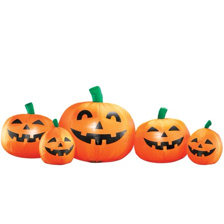 Inflatable Halloween Pumpkin Patch (Clearance Halloween Inflatables)