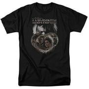 Labyrinth Globes Mens Short Sleeve Shirt