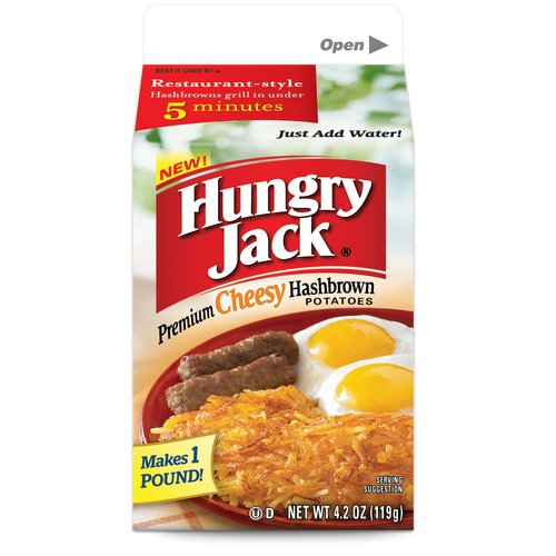 Hungry Jack Premium Cheesy Hashbrown Potatoes, 4.2 oz