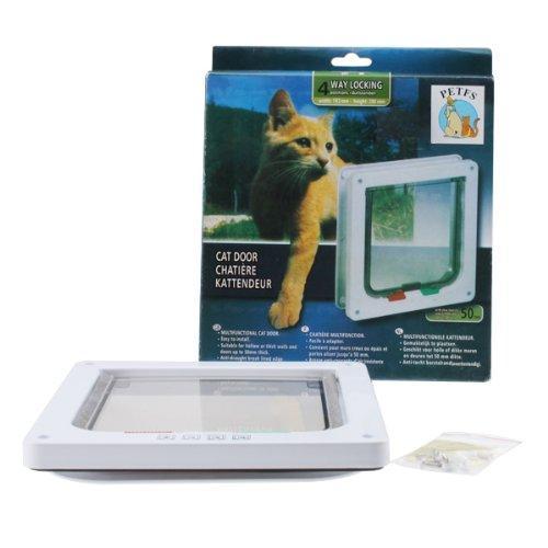 AGPtek Tactical Mini LOCKABLE Flap Door For Little Pet Dog/Cat