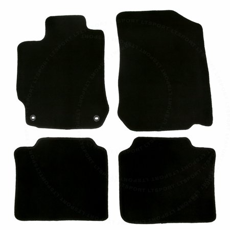 Fit 12-16 Toyota Camry Sedan Custom Fit Premium Nylon Black Floor Mats  Carpet For 2011 2012 2013 2014 2015 2016 11 12 13
