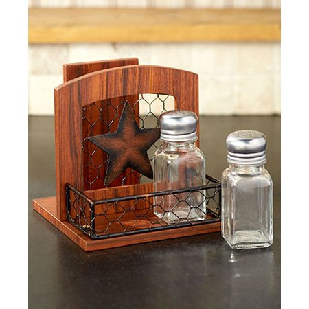 Country Kitchen Collection Star Napkin Holder