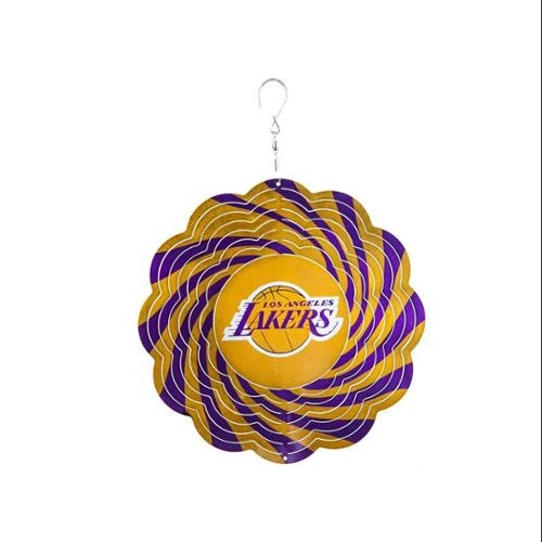 Los Angeles Lakers Official NBA 8 inch  Wind Spinner by Evergreen