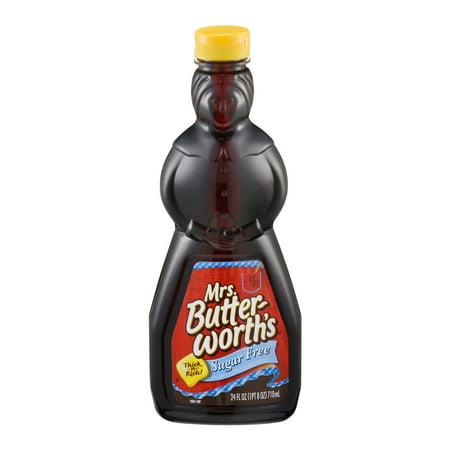 - (3 Pack) Mrs. Butterworth's Sugar Free Syrup, 24 Fl Oz