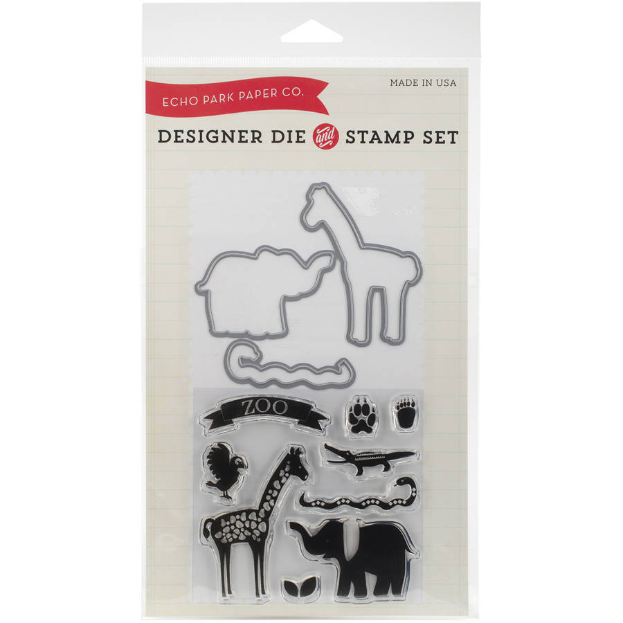 Echo Park Die and Stamp Combo Set