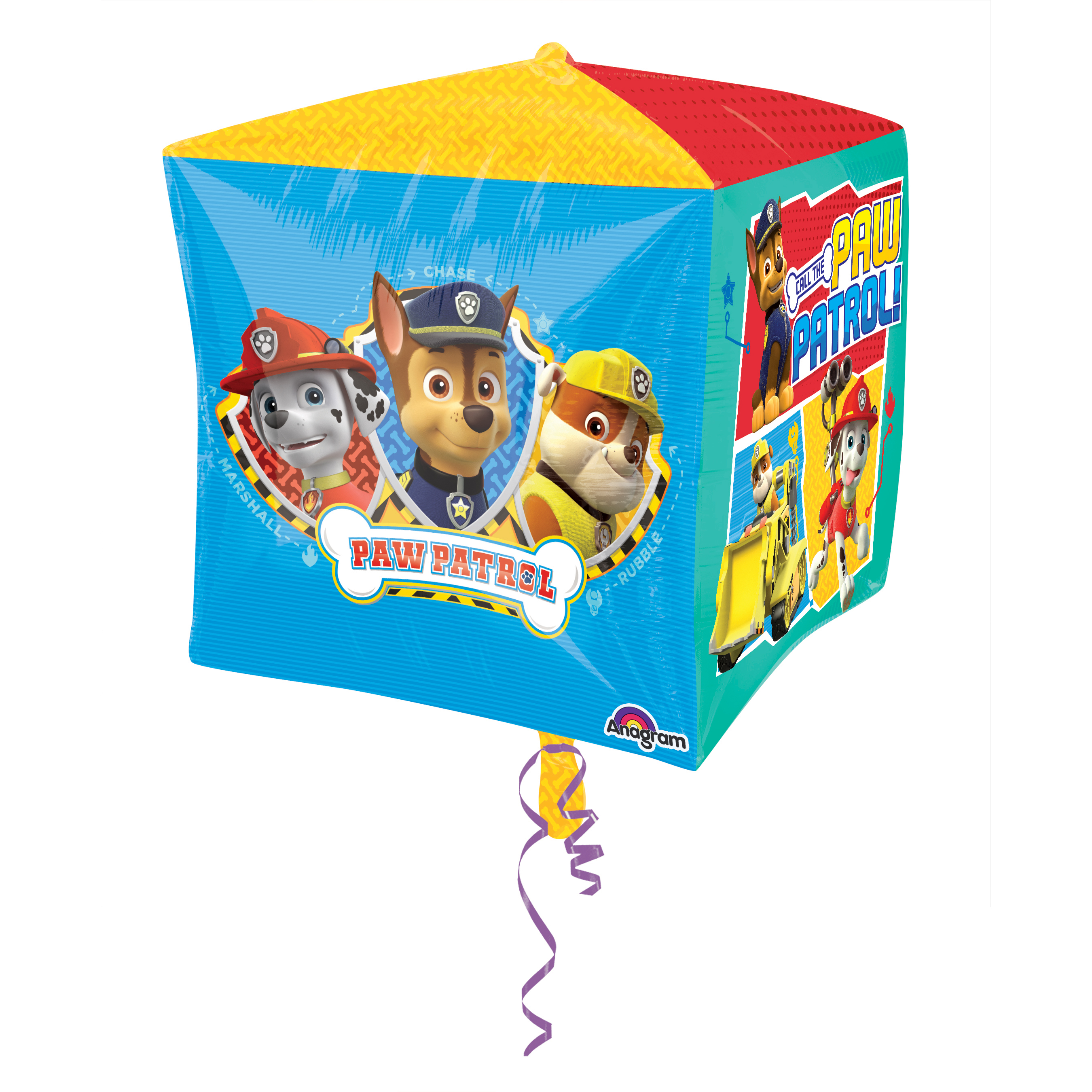 "Paw Patrol 15"" Cubez (Each) - Party Supplies"