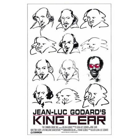 King Lear  Goddards  Movie Poster Print  27 X 40
