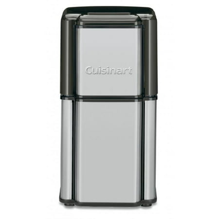 Cuisinart Grind Central Coffee Grinder Enough for 18 Cups with Built-In Safety Interlock, Stainless Steel Blades with Convenient Cord Storage, Includes Dishwasher Safe Bowl and
