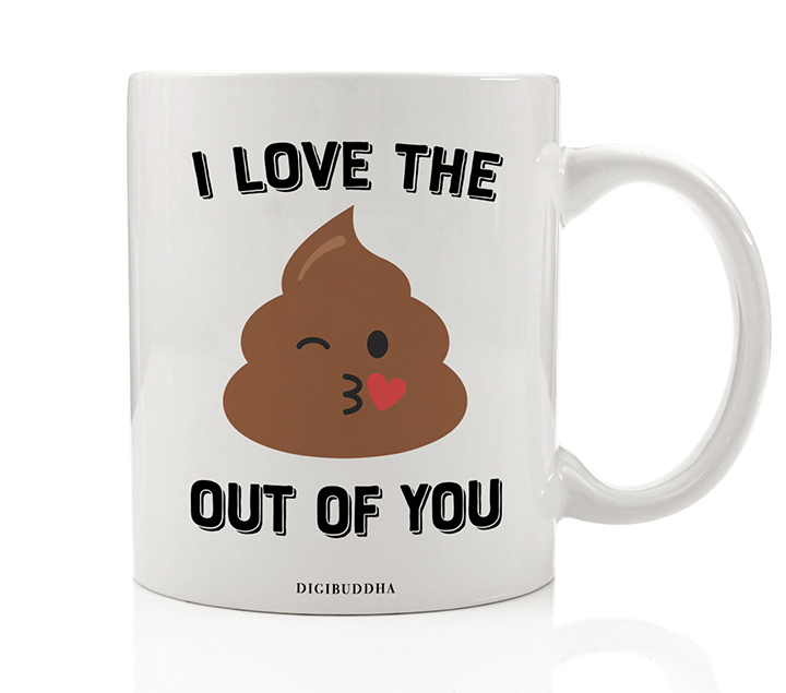 Love Mug Adult Humor Tea Cup Valentines Day Gift for Girlfriend from Boyfriend