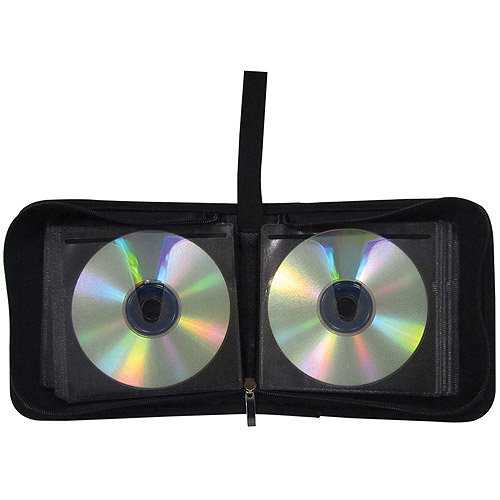 TekNmotion TM-NDW36B1 36 CD and DVD Low Capacity Wallet