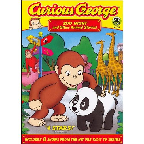 Curious George: Zoo Night And Other Animal Stories (Full Frame)