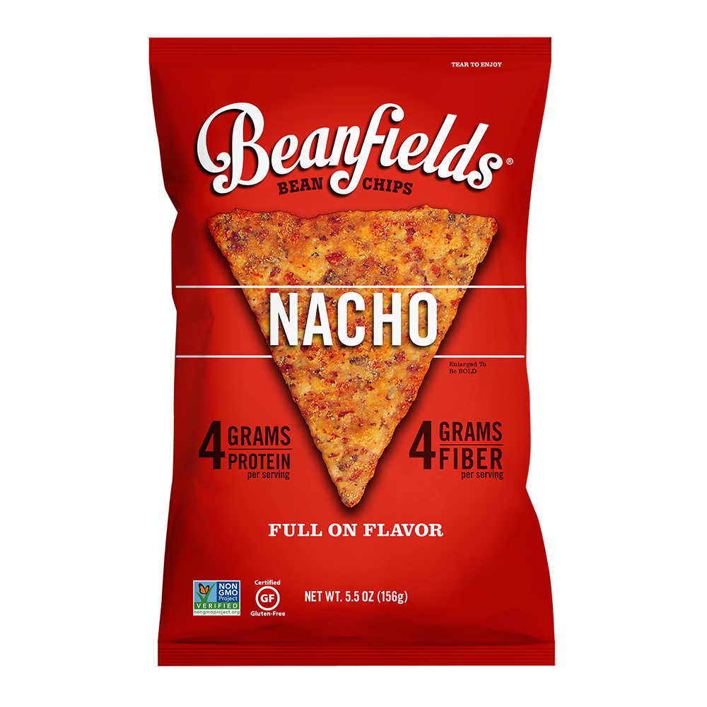 (3 Pack) Beanfields Nacho Bean & Rice Chips, 6 oz