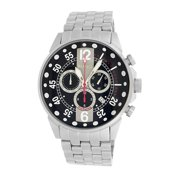 Roberto Bianci  Men's Pro Racing Black/ Grey Face Chronograph Watch